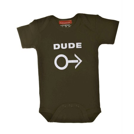Silly Souls Newborn Baby Boy Dude Bodysuit