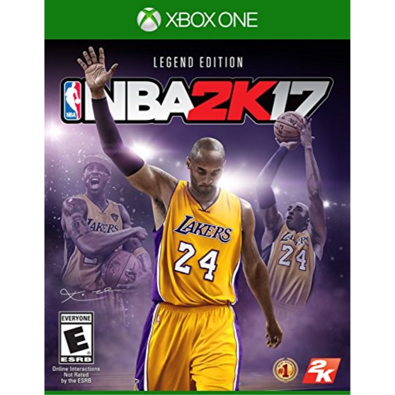 2K Games NBA 2K17 Legend Edition Xbox One by Take-Two Interactive Software, Inc