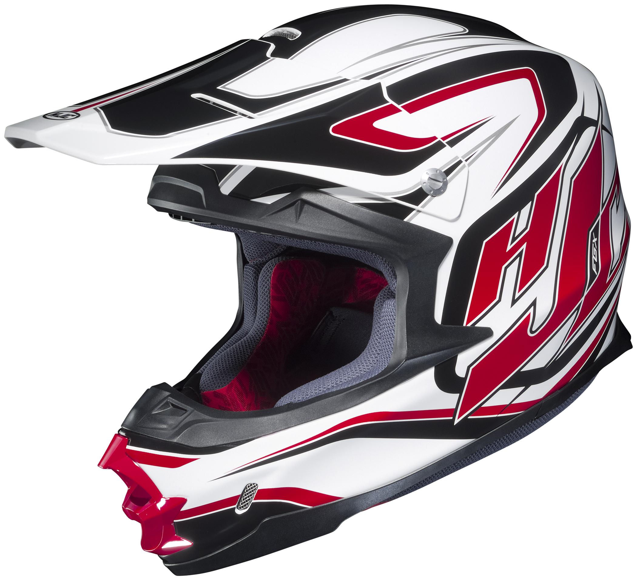 HJC FG-X 2014 Hammer MX/Offroad Helmet Red