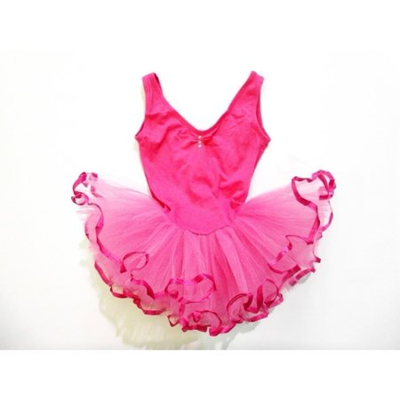 Hot Rhinestone Sleeveless Tutu Ballet Dress Girls M](Tutu Dress For Girls)