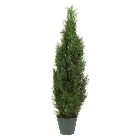 Landscaping Cedar Trees (Nearly Natural 4 ft. Cedar Tree Silk)