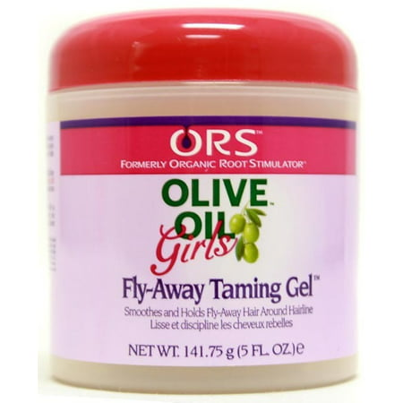 Organic Root Stimulator Girls Hair Gel Fly-Away Taming, 5 oz (Pack of (Organic Root Stimulator Lock & Twist Gel)