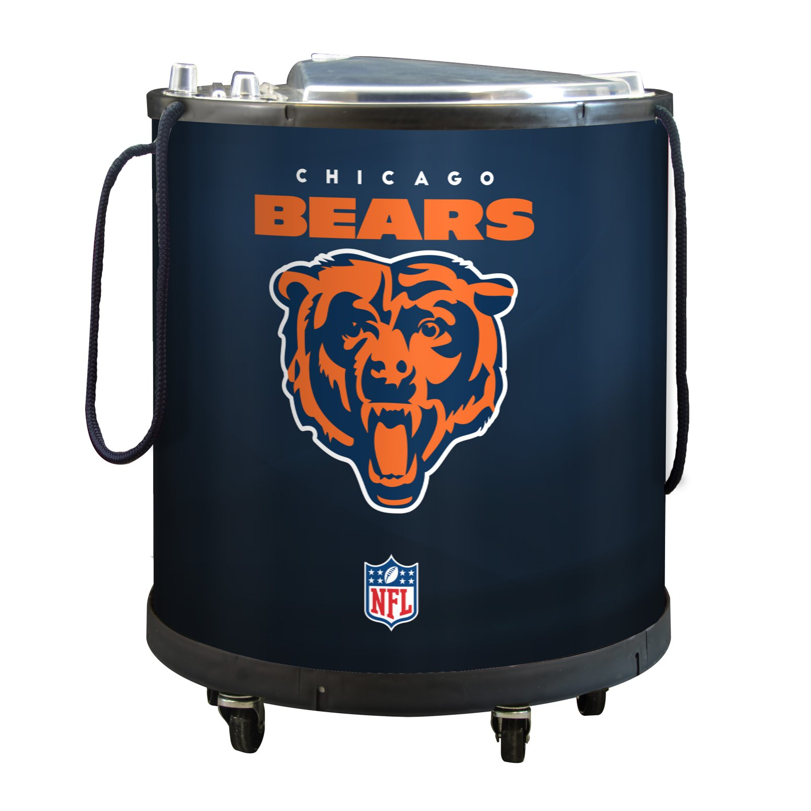 NFL Mini Ice Barrel Cooler, Chicago Bears