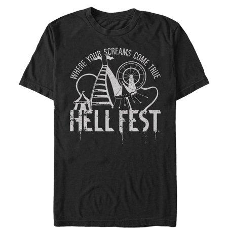 Hell Fest Men's Screams Come True T-Shirt