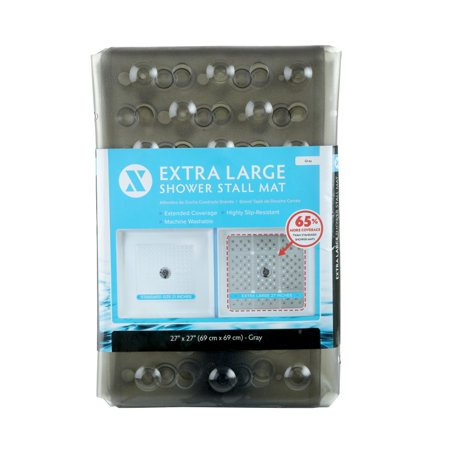 """SlipX Solutions 27"""" x 27"""" Extra Large Square Shower Mat"""