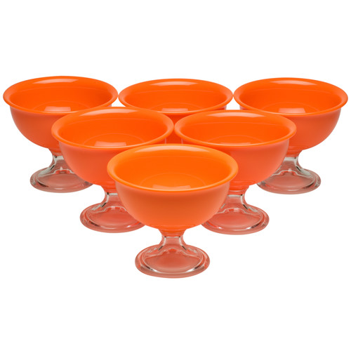 Red Vanilla 14oz. Summer Ice Cream Bowl (Set of 6)