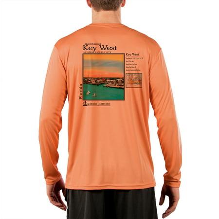 - Key West (FL) Men's UPF 50+ UV/Sun Protection Long Sleeve T-Shirt