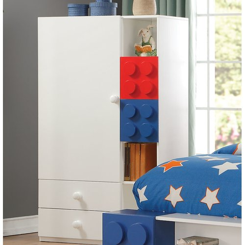 Zoomie Kids Hymes Armoire by
