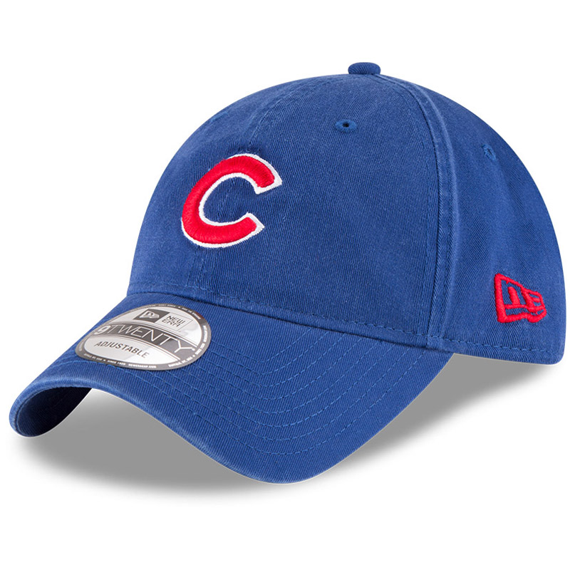 Chicago Cubs New Era Core Classic OTC 9TWENTY Adjustable Hat - Royal - OSFA