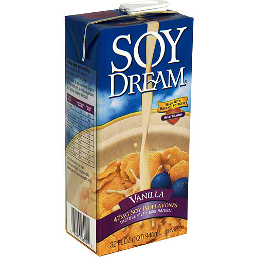 Soy Dream Vanilla Classic Soy Milk, 32 oz (Pack of 12)