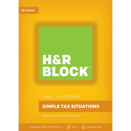 H Block Tax Software Basic 2017