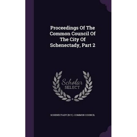 Proceedings of the Common Council of the City of Schenectady, Part 2 - image 1 of 1