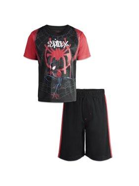 Superhero Toddler Boys' Athletic T-Shirt & Mesh Shorts Set