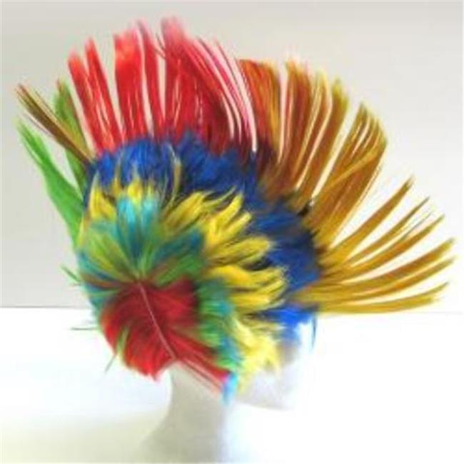 DDI 2131898 Rainbow Mohawk Wig - Case of 60