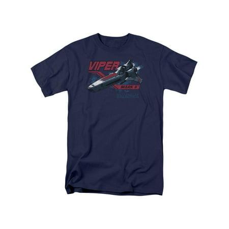 Battlestar Galactica TV Series Viper Mark II Adult T-Shirt Tee