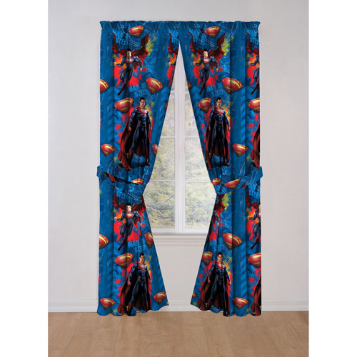 Superman Drapes, Set of 2