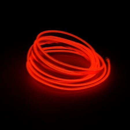 78da7fea NEW LED EL Light Neon Rope Car Party Dance Glowing Light Strip + 3V/12V ...