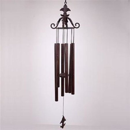 SPI Home Leaf Scroll Wind Chime