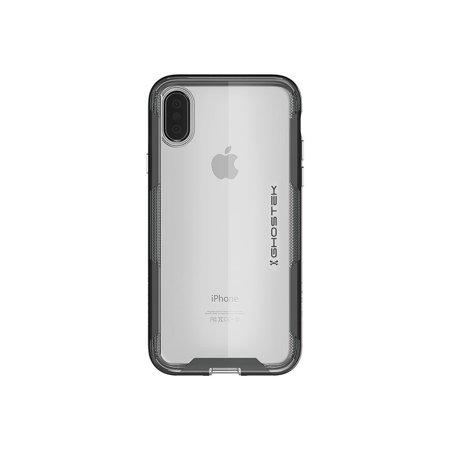 hot sale online 291a1 dd25a Ghostek Cloak Ultra Slim Clear Bumper Case Cover Designed for Apple iPhone  X XS - Black