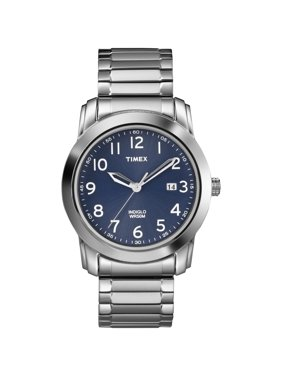 Men's Highland Street Watch, Silver-Tone Stainless Steel Expansion Band