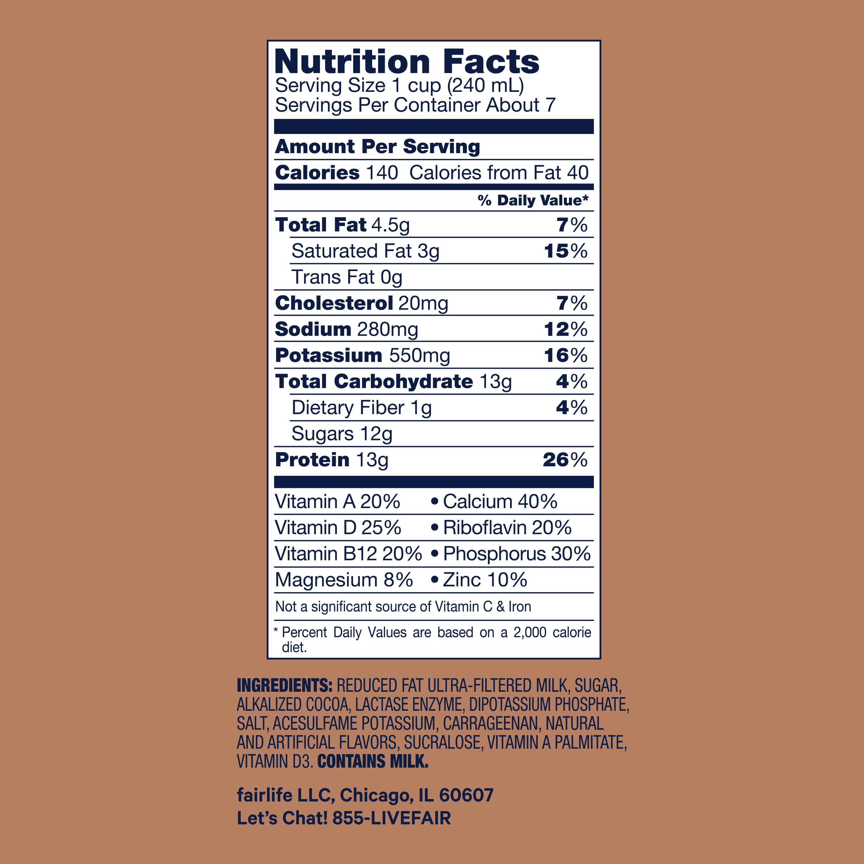 Fairlife Milk 52 fl oz - Lactose Free 2