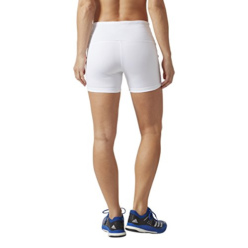 Adidas Women's Volleyball Four-Inch Short Tights, White, ...