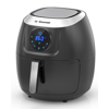 La Gourmet 7.2 Quart Multi Functional Oil Free Digital Air Fryer & Convection Oven, Black