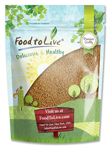 Food To Live Alfalfa Sprouting Seeds (5 Pounds) by Food To Live