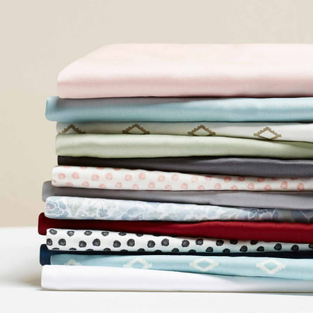 Better Homes & Gardens 300 Thread Count Wrinkle Resistant Solid Color Pillowcases, Standard/Queen Size - Set Of 1