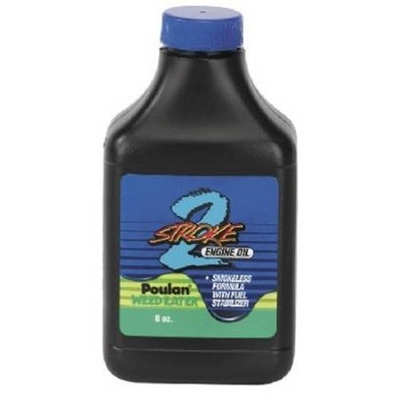 Poulan weed eater 2 cycle synthetic engine oil for Motor oil out of clothes