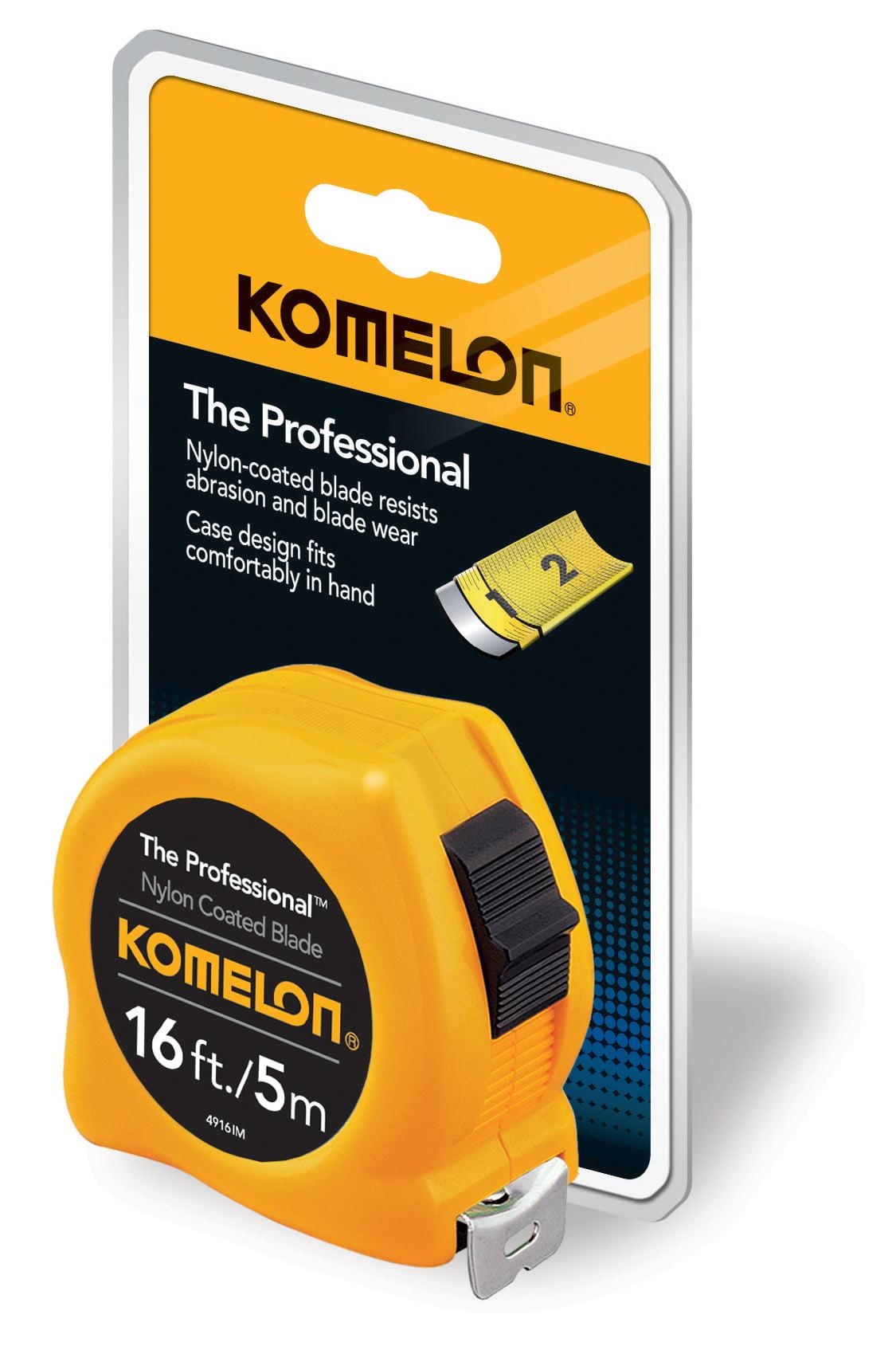 Komelon 16' 5m Professional Inch Metric Tape Measure by Komelon Corporation