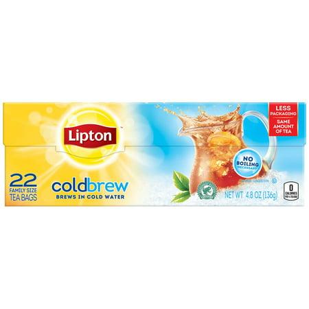 Lipton Family Iced Tea Bags Black tea 22 ct - Tea Bag Costume