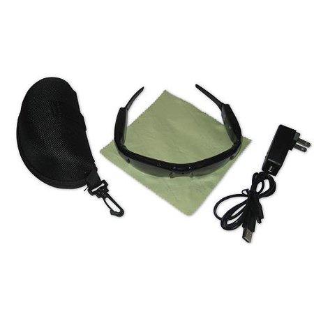 feccee88ecae7 ElectroFlip - Spycam Video Camcorder Climbers Sunglasses w  Rechargeable  Battery - Walmart.com