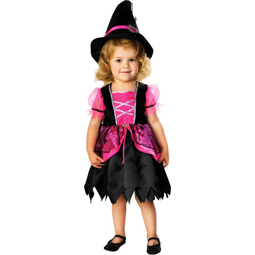 Pretty in Pink Witch Toddler Halloween Costume