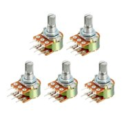 WH148 20K Ohm Variable Resistors Dual Carbon Film Potentiometer 5pcs