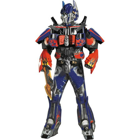 Transformers 3 Dark of the Moon Optimus Prime Theatrical Adult - Transforming Optimus Prime Halloween Costumes