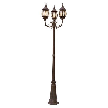 Bel Air Bayville Outdoor Lamp Post - 91.5H in.