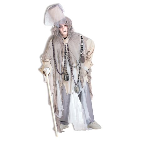 A Christmas Carol Jacob Marley Costume for Men - Christmas Theme Costume