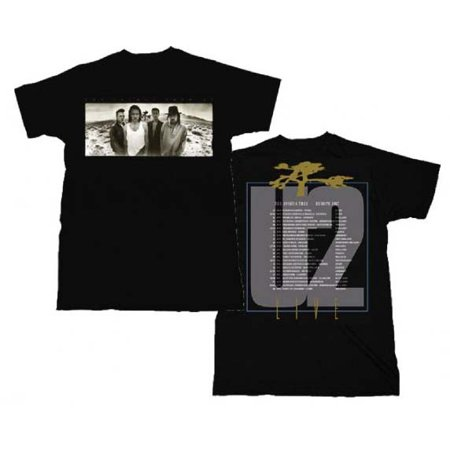 U2 Joshua Tree European Tour T-Shirt Small ()