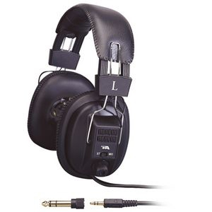 Cyber Acoustics Pro Series ACM-500RB Headphone - Stereo - Mini-phone - Wired - 20 Hz 20 kHz - Gold Plated - Over-the-hea