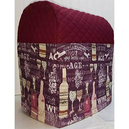 Purple Wine Cover For Kitchenaid 7 Quart Lift Bowl Stand