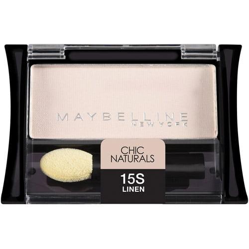 Maybelline Expert Wear Chic Naturals Eyeshadow Singles, 15 Linen, 0.09 oz