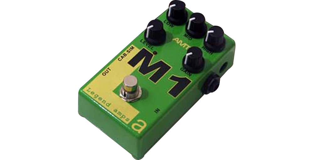 AMT Electronics Legend Amps Series M1 Distortion Guitar Effects Pedal by AMT Electronics