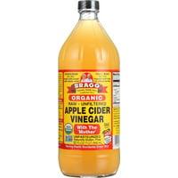 Bragg Organic Apple Cider Vinegar, Raw & Unfiltered, 32 Fl Oz