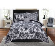 Mainstays Tropical Leaf Bed in a Bag Coordinating Comforter Set