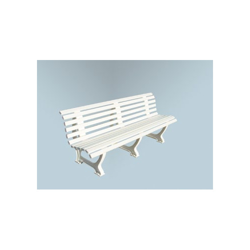 Putterman Athletics Deluxe Courtside Park Bench