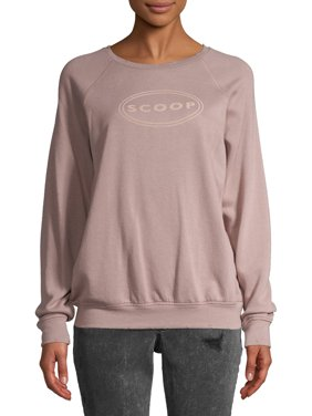 Scoop Logo Printed Sweatshirt Women's