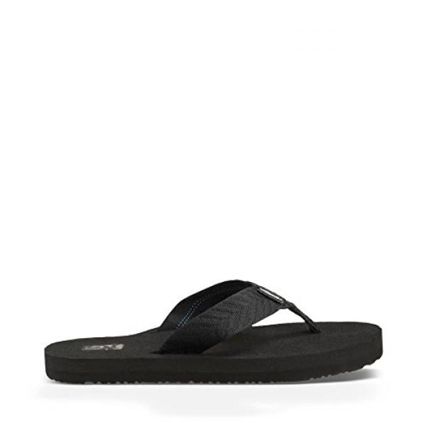 Teva Women's Mush II Flip Flop,Fronds Black,8 M US by teva