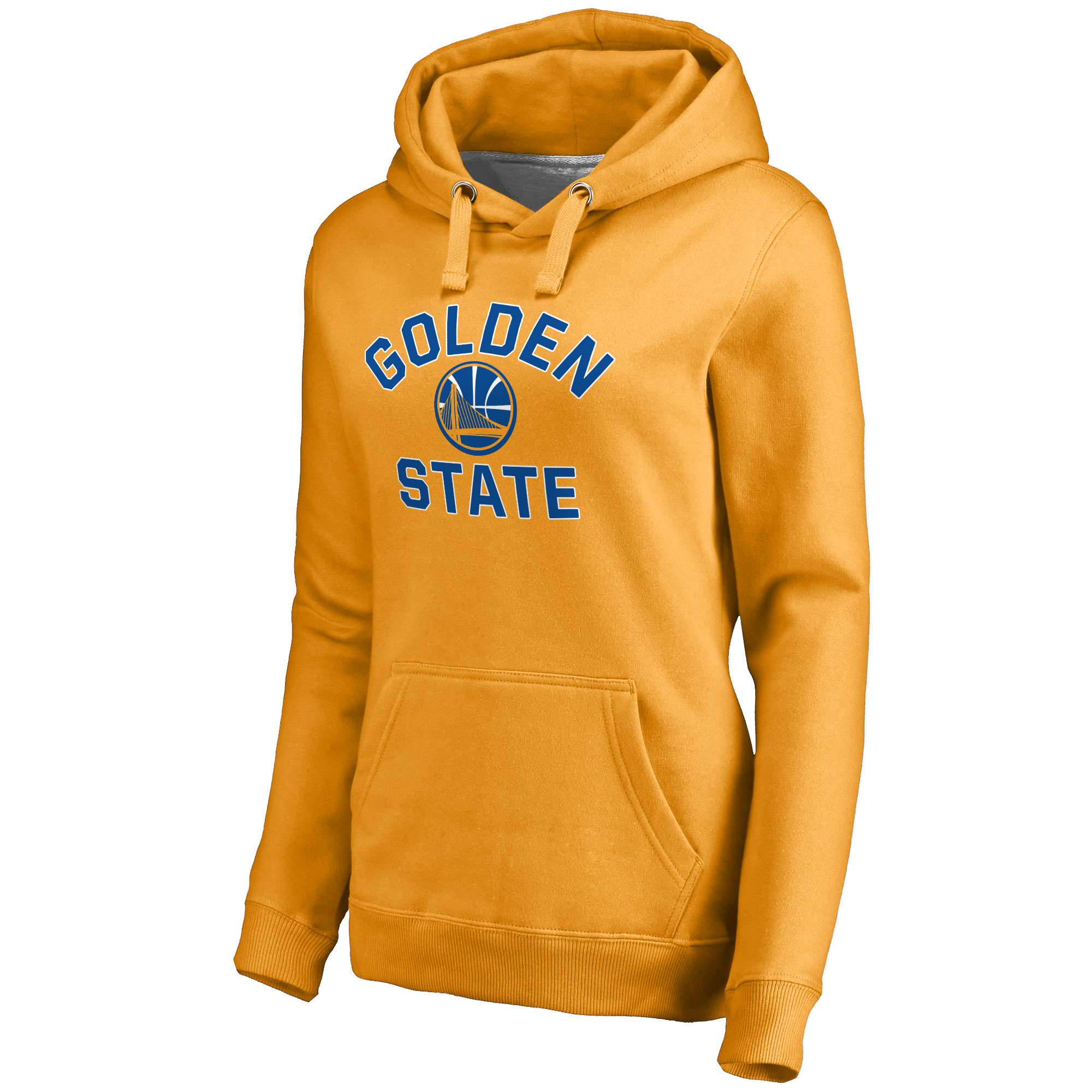 Golden State Warriors Women's Overtime Pullover Hoodie - Gold