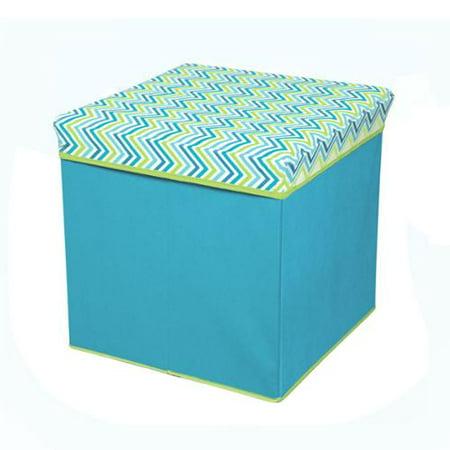 Phenomenal Target Marketing Llc Cyan Blue Green Collapsible Storage Machost Co Dining Chair Design Ideas Machostcouk